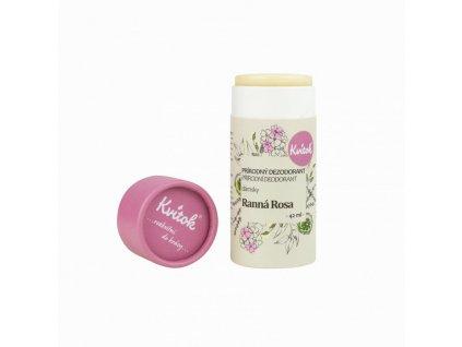 Kvitok Tuhý deodorant Ranní rosa (42 ml) - účinný až 24 hodin