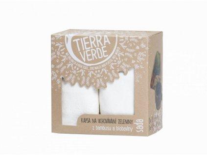 """Tierra Verde Sada kapes na uchovávání zeleniny (3 ks) - """"kapesní sklep"""""""