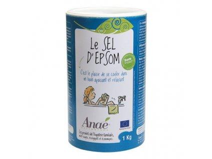 Anaé by Ecodis Epsomská sůl (dóza 1 kg) - do koupele, peelingu i na zahradu
