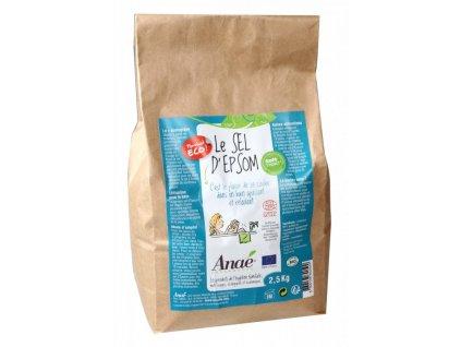 Anaé by Ecodis Epsomská sůl (pytel 2,5 kg) - do koupele, peelingu i na zahradu