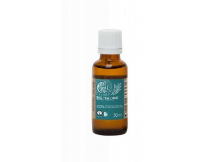 Tierra Verde Esenciální olej Tea tree BIO (30 ml) - antibakteriální pomocník