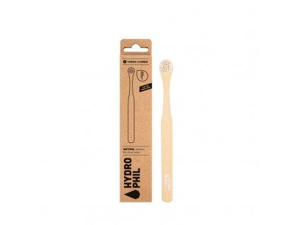 Hydrophil Bambusový kartáček na jazyk - 100% z obnovitelných zdrojů