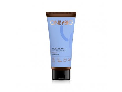 OnlyBio Micelární šampon pro suché a poškozené vlasy Hydra Repair (200 ml) - s aloe a levany