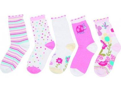 Dětské barevné ponožky, Pidilidi, PD512, holka