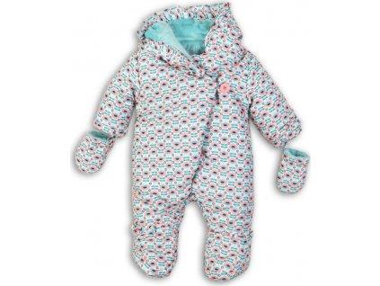 Overel zimní kojeneckyý s chlupem, Minoti, PRINCESS 10, zelená