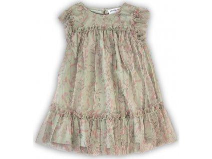 Šaty dívčí, Minoti, SECRET 2, zelená