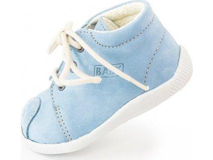 dětský capáček na tkaničku, Veleta, 027, modrá
