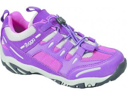 sportovně vycházková obuv, Bugga, B035, růžová