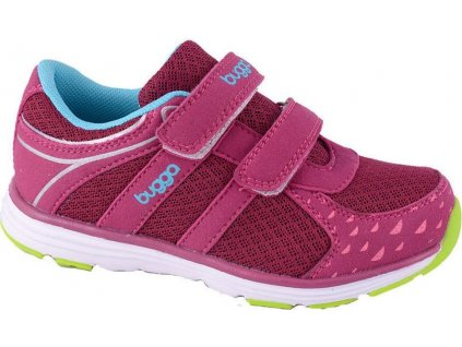 obuv sportovní, Bugga, B087, růžová