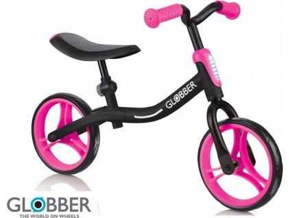 odrážedlo GO BIKE - Black / Neon pink, Globber, W012657