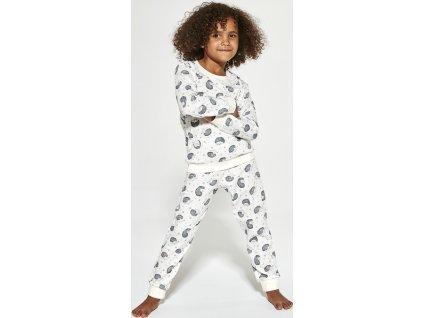 Dívčí pyžamo Cornette dlouhý rukáv 033