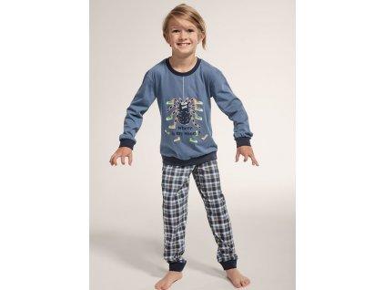 Chlapecké pyžamo Cornette dlouhý rukáv 776