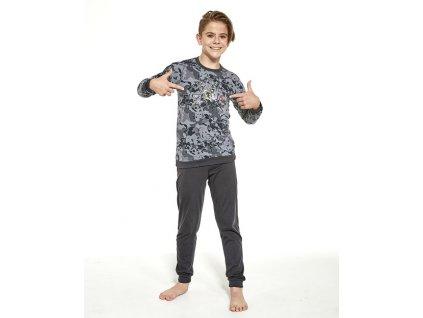 Chlapecké pyžamo Cornette dlouhý rukáv 454