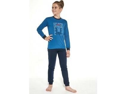 Chlapecké pyžamo Cornette dlouhý rukáv 267