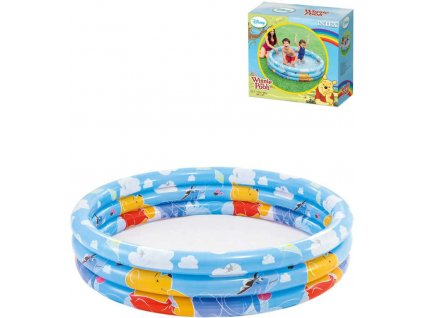 INTEX Baby bazén nafukovací kruhový Medvídek Pú 147x33cm 58915