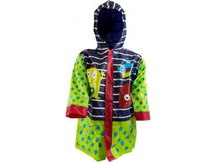 pláštěnka PVC chlapecká MONSTER, PiDiLiDi, PL0097-04, kluk