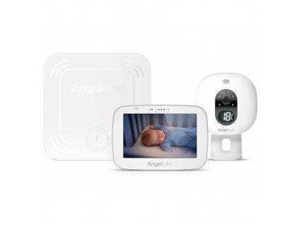 ANGELCARE AC527 Monitor pohybu dechu a elektronická video chůvička 2021