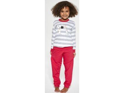 Dívčí pyžamo Cornette dlouhý rukáv 474