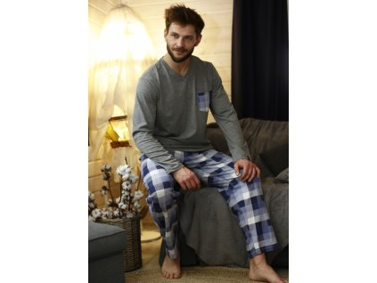 Pyžamo Key dlouhé MNS 430 2