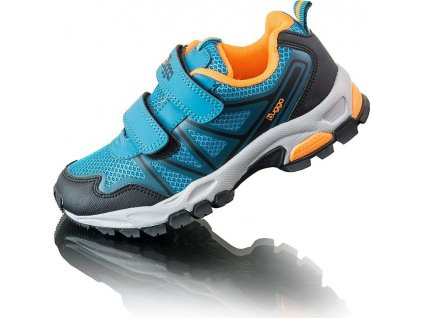 Chlapecké boty sportovní outdoorové AKA, Bugga, B00167-04, modrá