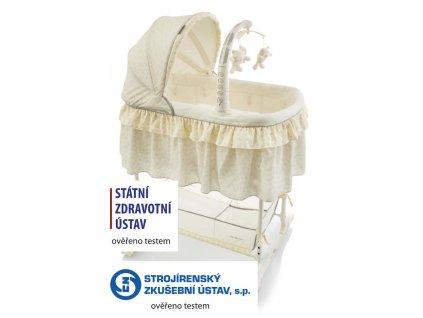 Kolébka Regina gray BabyPoint