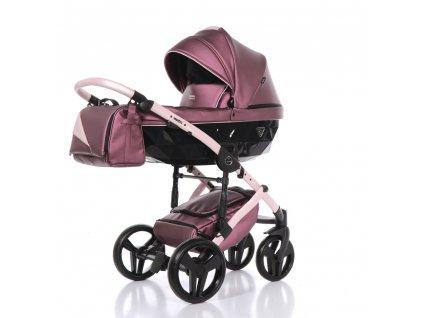 Kombinovaný kočárek Fluo Line 2 08 Purple/Pink 2020