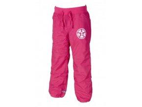 Dětské sportovní kalhoty s fleecovou podšívkou PIDILIDI PD0885-03- růžová