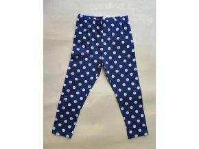 Dívčí legíny modrá s puntíky Wendee TU0257-04