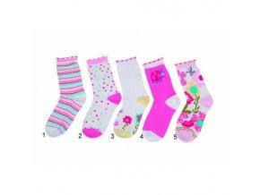 Dětské barevné ponožky Pidilidi PD512