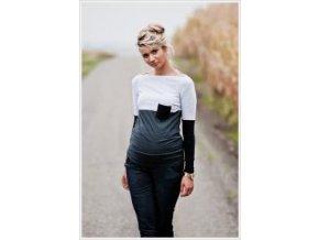 Těhotenské triko/halenka ANASTAZIE