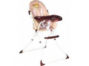 Dětská jídelní židlička Patron BEE- Owl brown