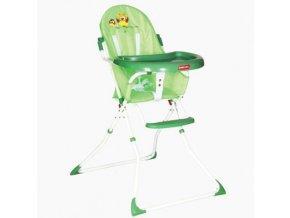 Dětská jídelní židlička Patron BEE- Owl green 863P