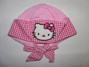 Dívčí šátek na hlavu Hello Kitty růžová 2018