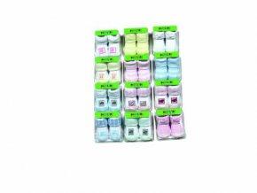 Kojenecké ponožky v krabičce Pidilidi PD0106-22