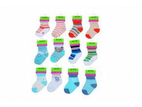 Kojenecké ponožky chlapecké PD0502-02 2018