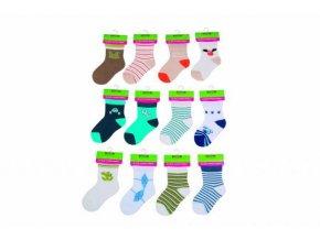 Kojenecké ponožky chlapecké PD0505-02 2018