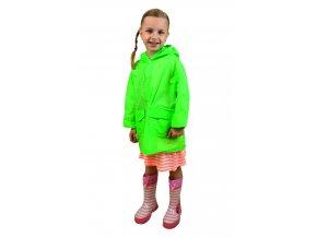 Pláštěnka Pidilidi NEON raincoat PL0065-19 - zelená 2018