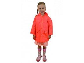 Pláštěnka Pidilidi NEON raincoat PL0065-17 - oranžová 2018