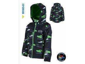 Chlapecká softshellová bunda Pidilidi PD1005-02 černá 2019