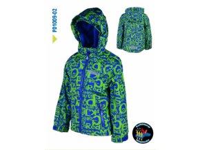 Chlapecká outdoorová bunda Pidilidi PD1009-02 zelená 2019