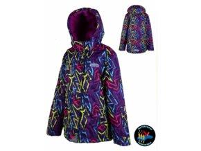 Dívčí lyžařská bunda PIDILIDI PD1006-01 2019