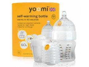 Dětská lahev YOOMI 5oz Bottle/Warmer/Teat/Pod - Y15B1W1P 2018