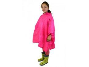 Pidilidi poncho PVC neonová pláštěnka PL0066-03 růžová 2019