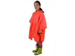 Pidilidi poncho PVC neonová pláštěnka PL0066-17 oranžová 2018