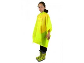 Pidilidi poncho PVC neonová pláštěnka PL0066-20 žlutá 2018