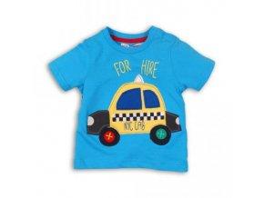 tričko chlapecké TAXI Minoti BUS 5,MT0017-33 světle modrá2018
