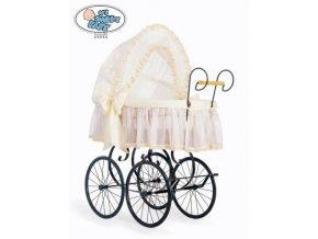 Luxusní RETRO koš na miminko MY SWEET BABY - DOMÁCÍ KOČÁREK > varianta 2100-171