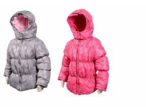 """Dívčí zimní bunda """"PUFFY"""" PIDILIDI vel.92-128 2018 PD0936-03 - růžová"""