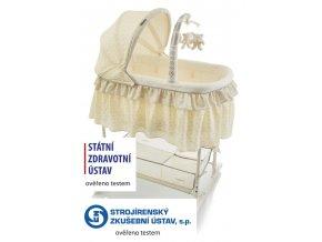 Kolébka Regina yellow BabyPoint