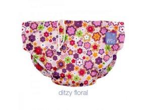 Koupací kalhotky Bambinomio NEW - Ditzy Floral 2018